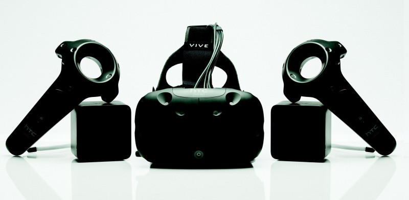 The HTC Vive powered by SteamVR.
