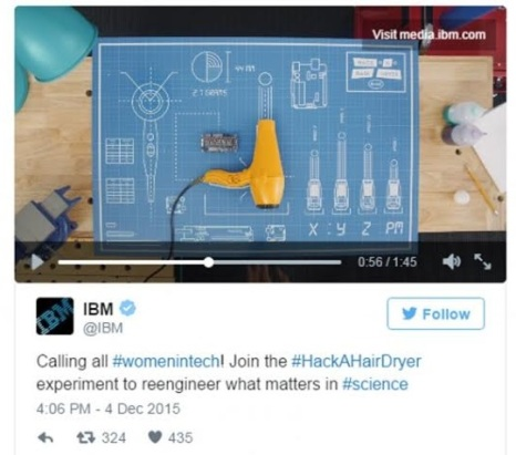 IBM Hack a Hair Dryer