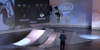 Intel equips BMX stunt riders with tracking analytics