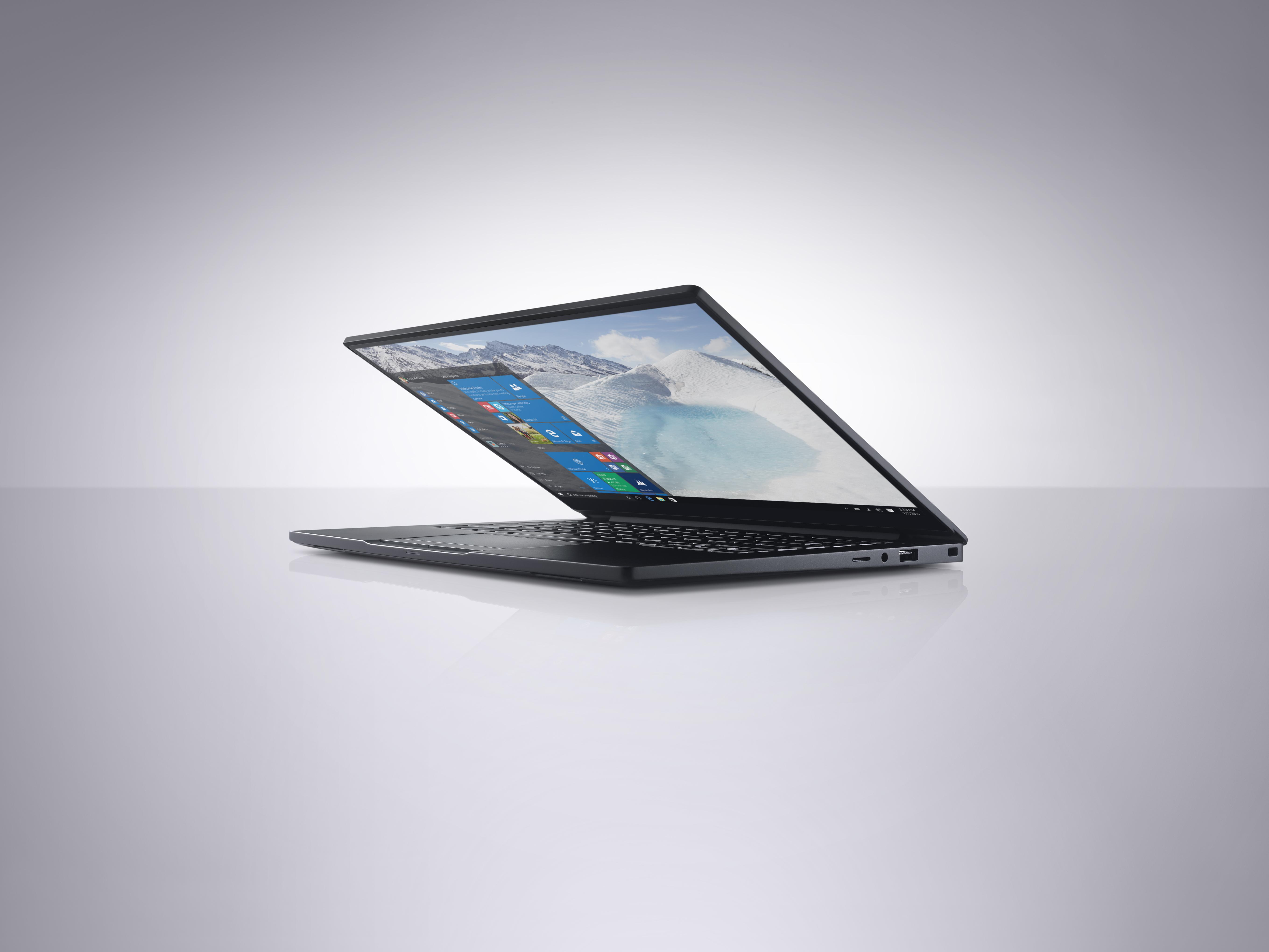 The Dell Latitude 13 7000 Series Ultrabook.