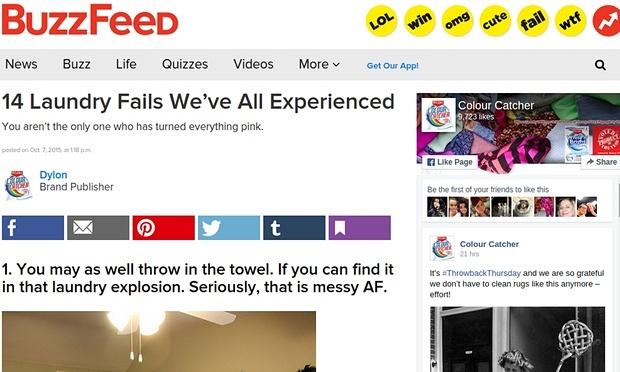 BuzzFeed: Laundry Fails
