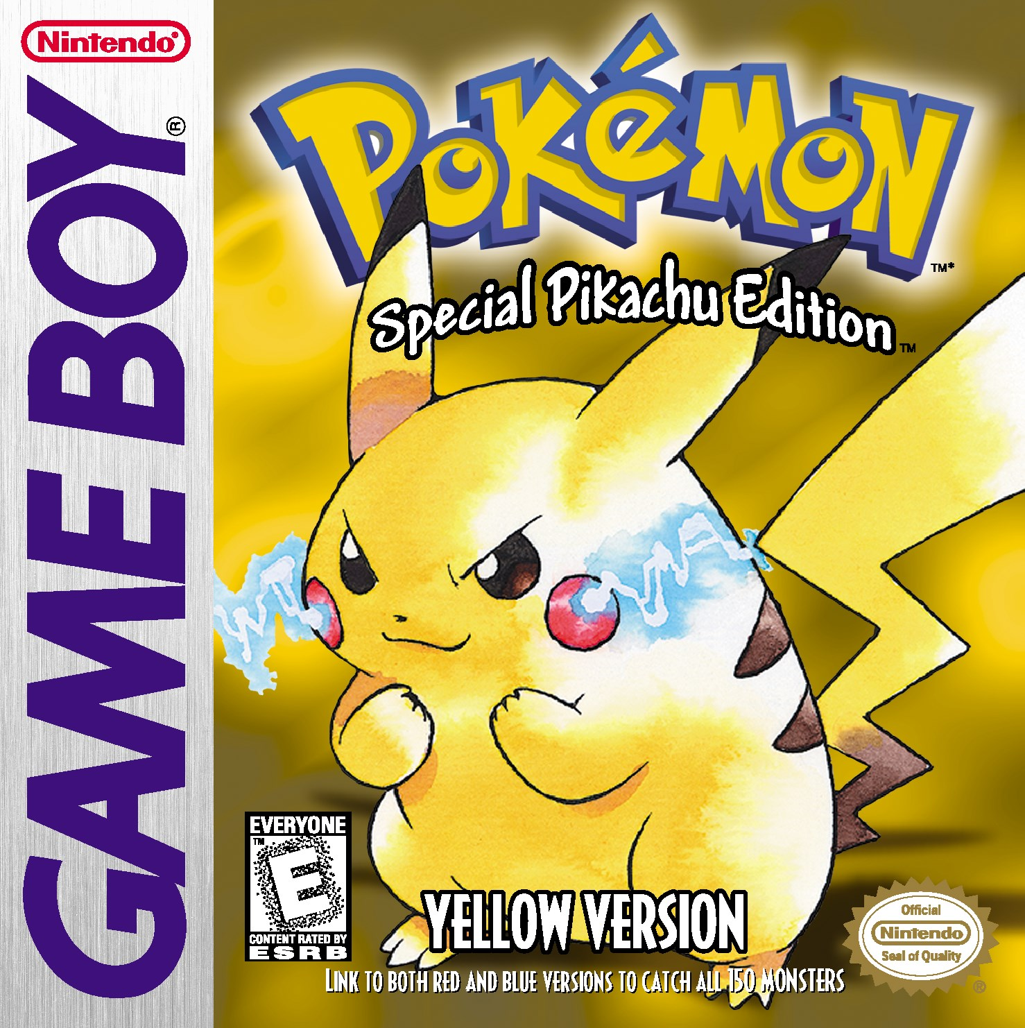 Yup, don't worry. Pokemon Yellow is coming out with Red and Blue. And yes, Pikachu still follows you around