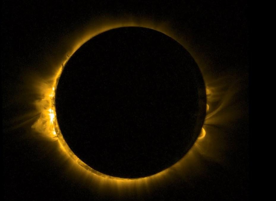 Nasa Goddard eclipse