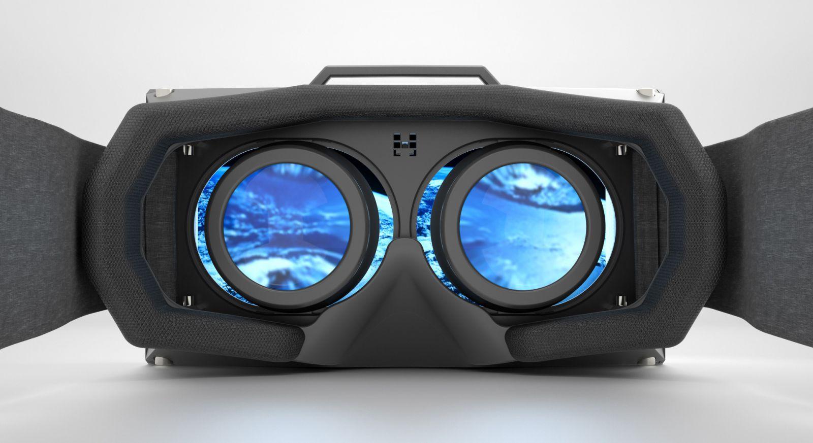 An Oculus Rift headset.