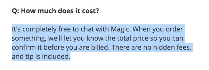 Magic charging