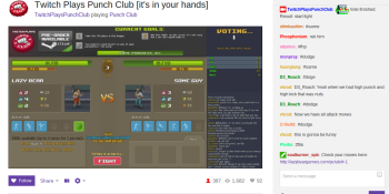 Twitch has to beat Punch Club before the fighting sim releases on Steam