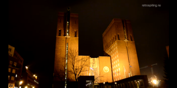 Oslo's City Hall plays Super Mario and Minecraft tunes on the hour