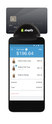 Shopify POS Android Card Reader