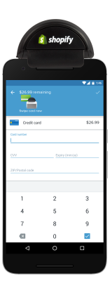 Shopify POS Android Purchase