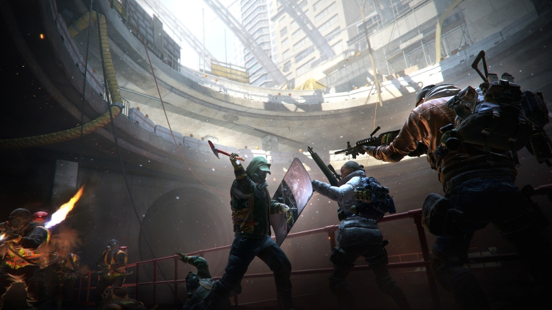The Division: fighting the Cleaners