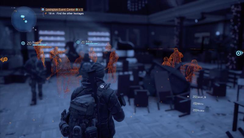 The Division: memory echos screencap