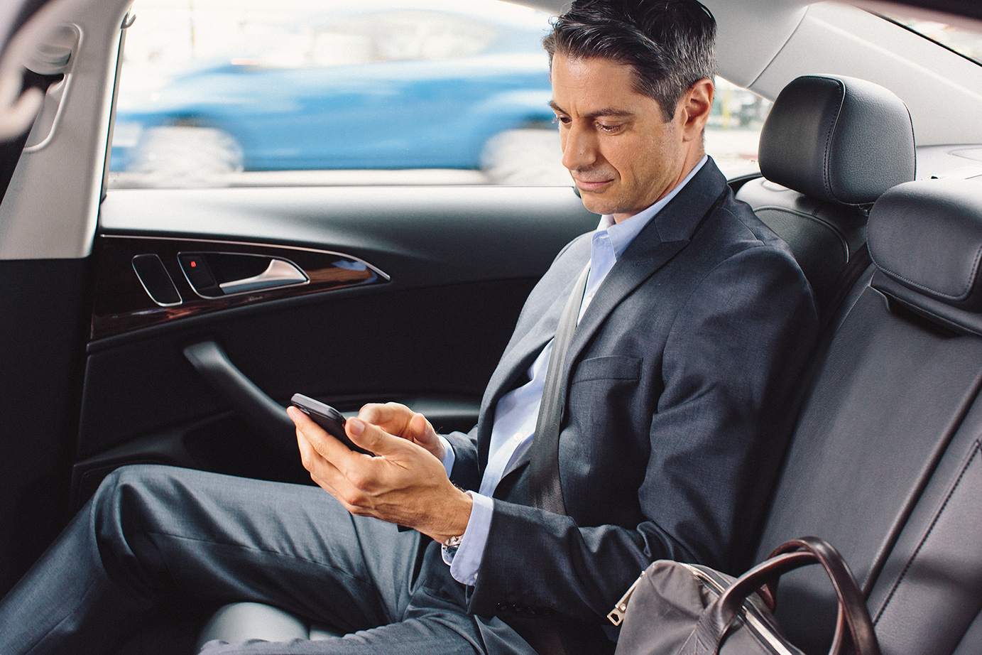 Uber Car Seat >> Uber usage by business travelers surpassed taxi and car ...