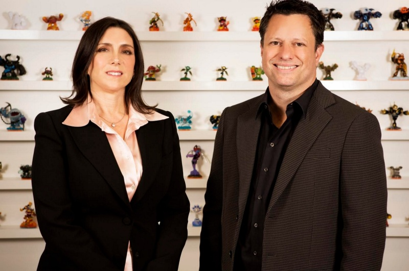 Stacey Sher and Nick van Dyke, co-presidents of Activision Blizzard Studios.