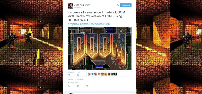 Doom co-creator John Romero makes his first level in 21 years for