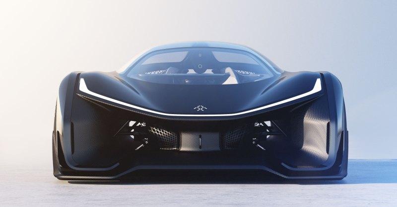 Faraday Future's FFZERO1 concept electric car.
