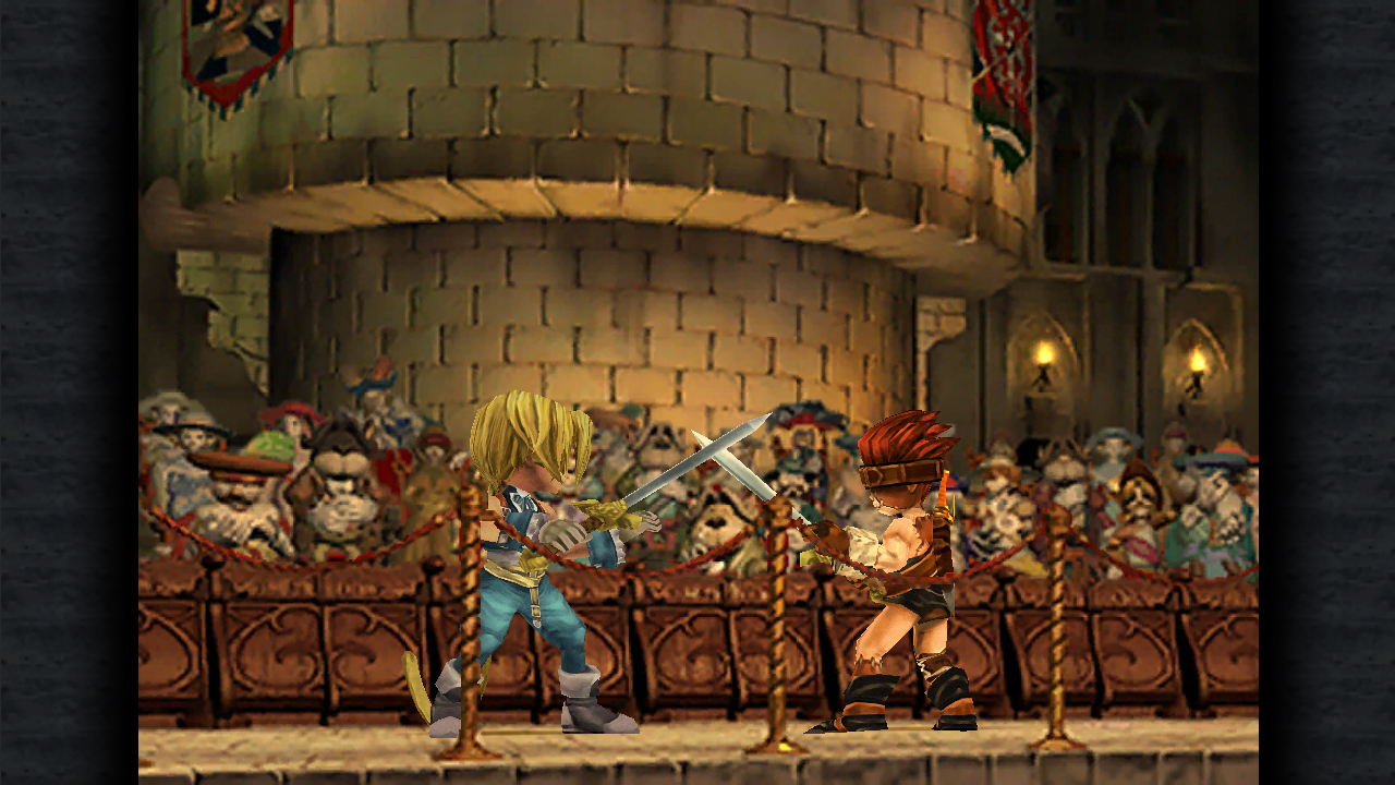 Oh, how my heart swells at the sight of Final Fantasy IX.