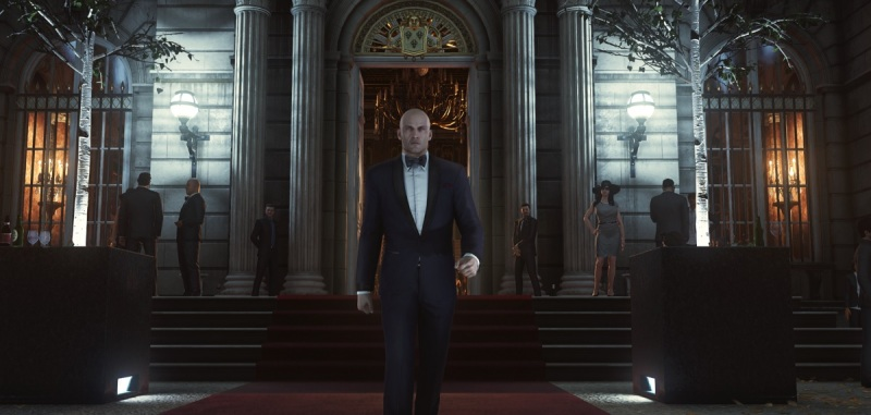 Hitman has style. Very Bond-like in this scene.