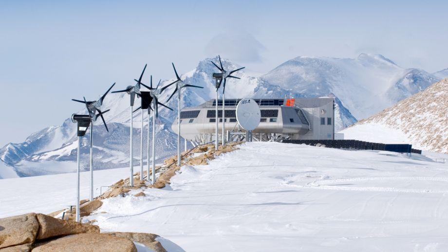 Belgium's Princess Elisabeth Antarctica polar station.