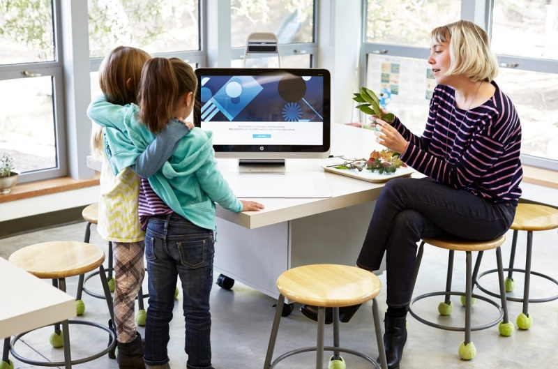HP Sprout Pro is targeted at education and enterprise.