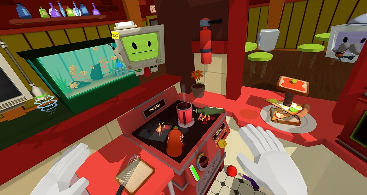 Restaurant Business Kitchen Games