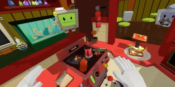 Hands on with Owlchemy's silly Job Simulator virtual reality game for the HTC Vive