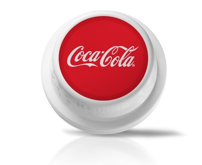 The Keurig Kold can make Coca-Cola from pods.