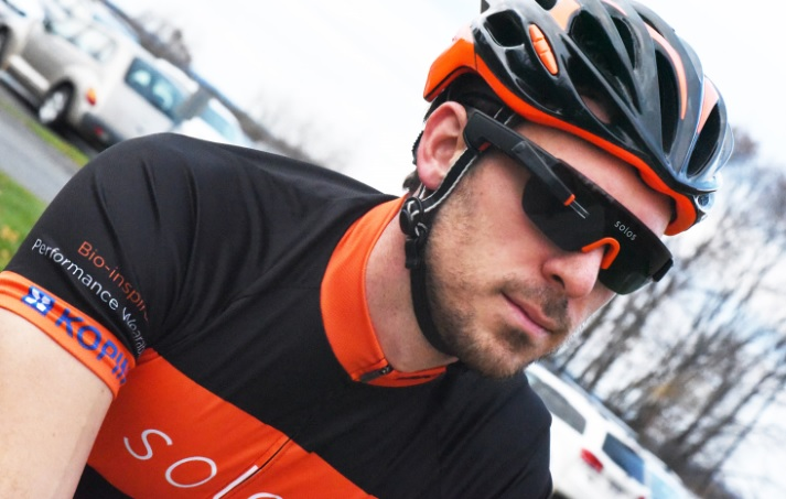 Kopin has made its own sunglasses for cyclists using smart tech.