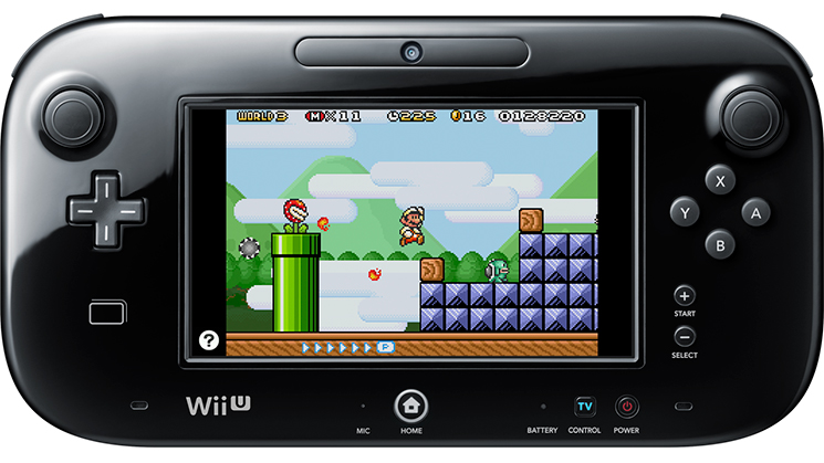 A classic's now on the Wii U.