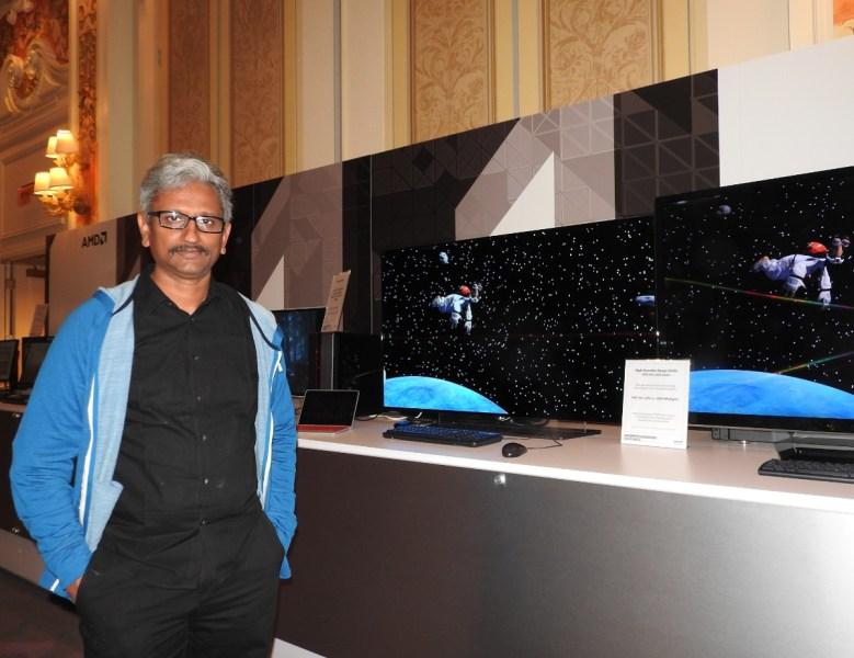 Raja Koduri, head of the Radeon Technologies Group at Advanced Micro Devices.