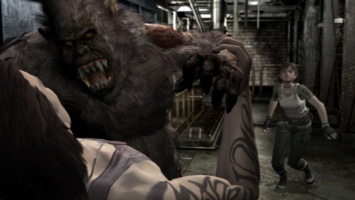 A gorilla!?