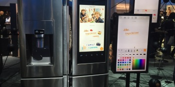 Hands-on demo of the Samsung Family Hub refrigerator
