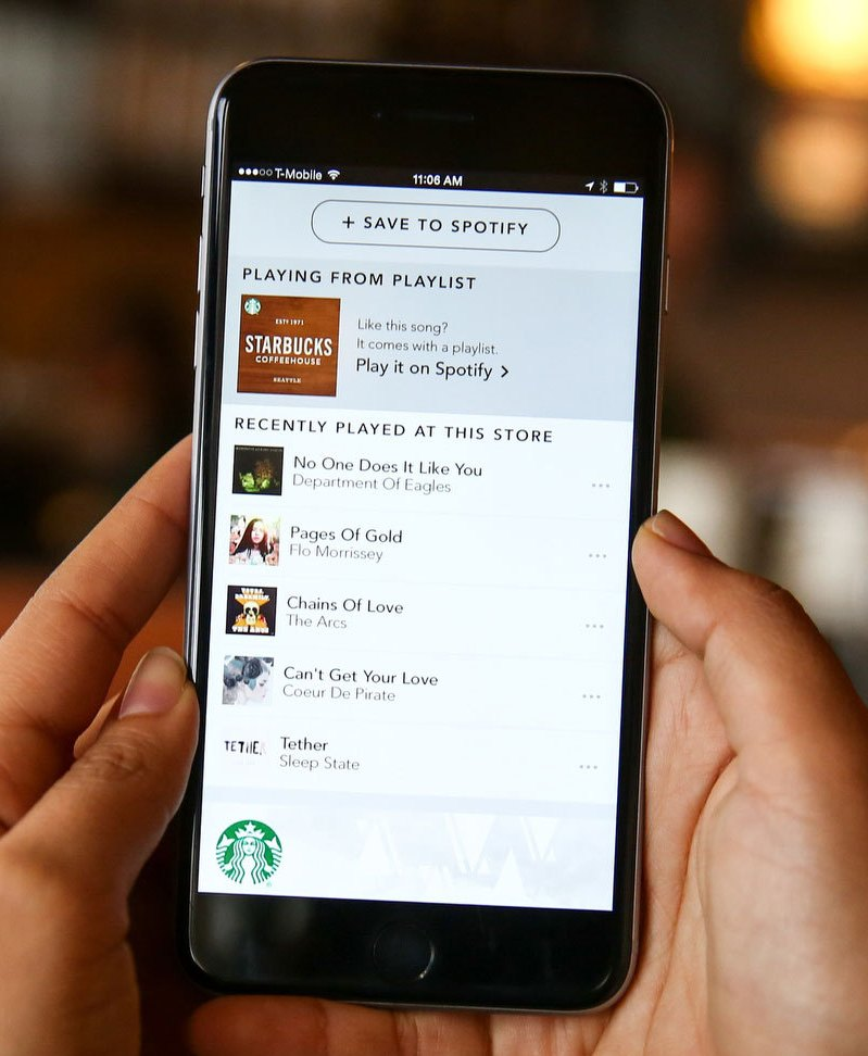 Starbucks on Spotify