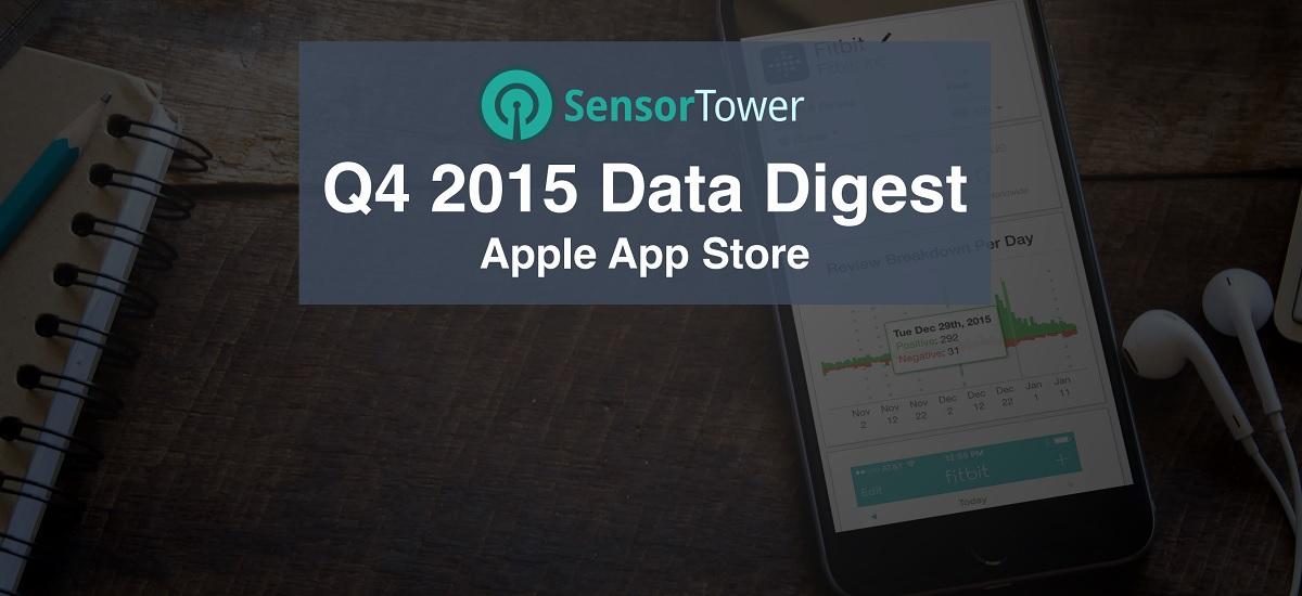 Sensor Tower's data shows games dominate revenues on iOS.