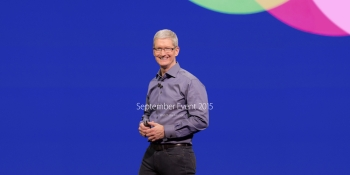 Tim Cook is sitting on $310M of unvested Apple stock, at today's market value