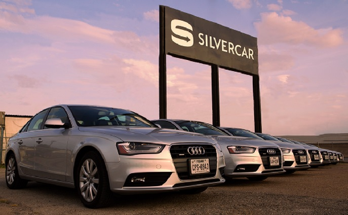 Silvercar is a new kind of rental car company.