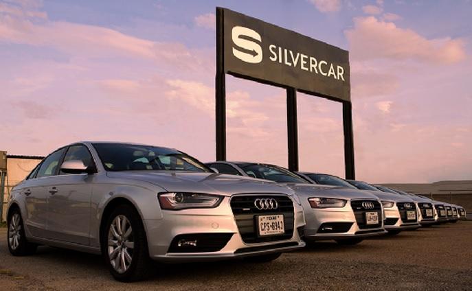 Silvercar is a new kind of rental car company.