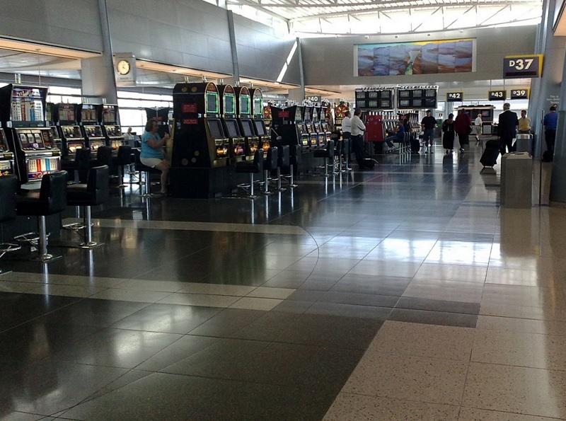 Slot machines in Las Vegas