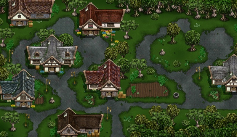 A village in Hero's Song
