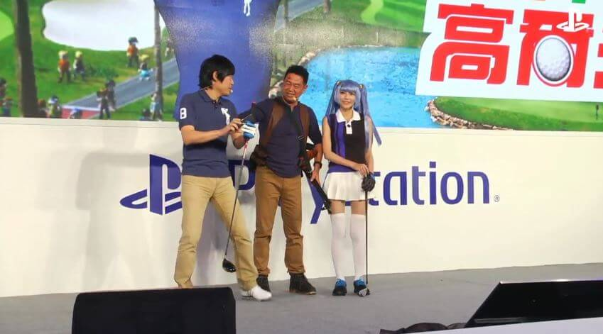 Live from the Taipei Game Show.