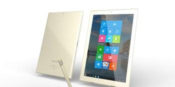 Toshiba starts selling its thinnest 12-inch Windows 10 Dynapad tablet
