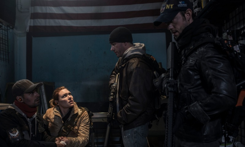 Scene from live-action film for The Division.