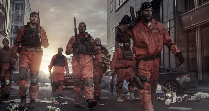 A scene from Corridor Digital's live-action film for The Division.