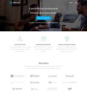 weave-homepage