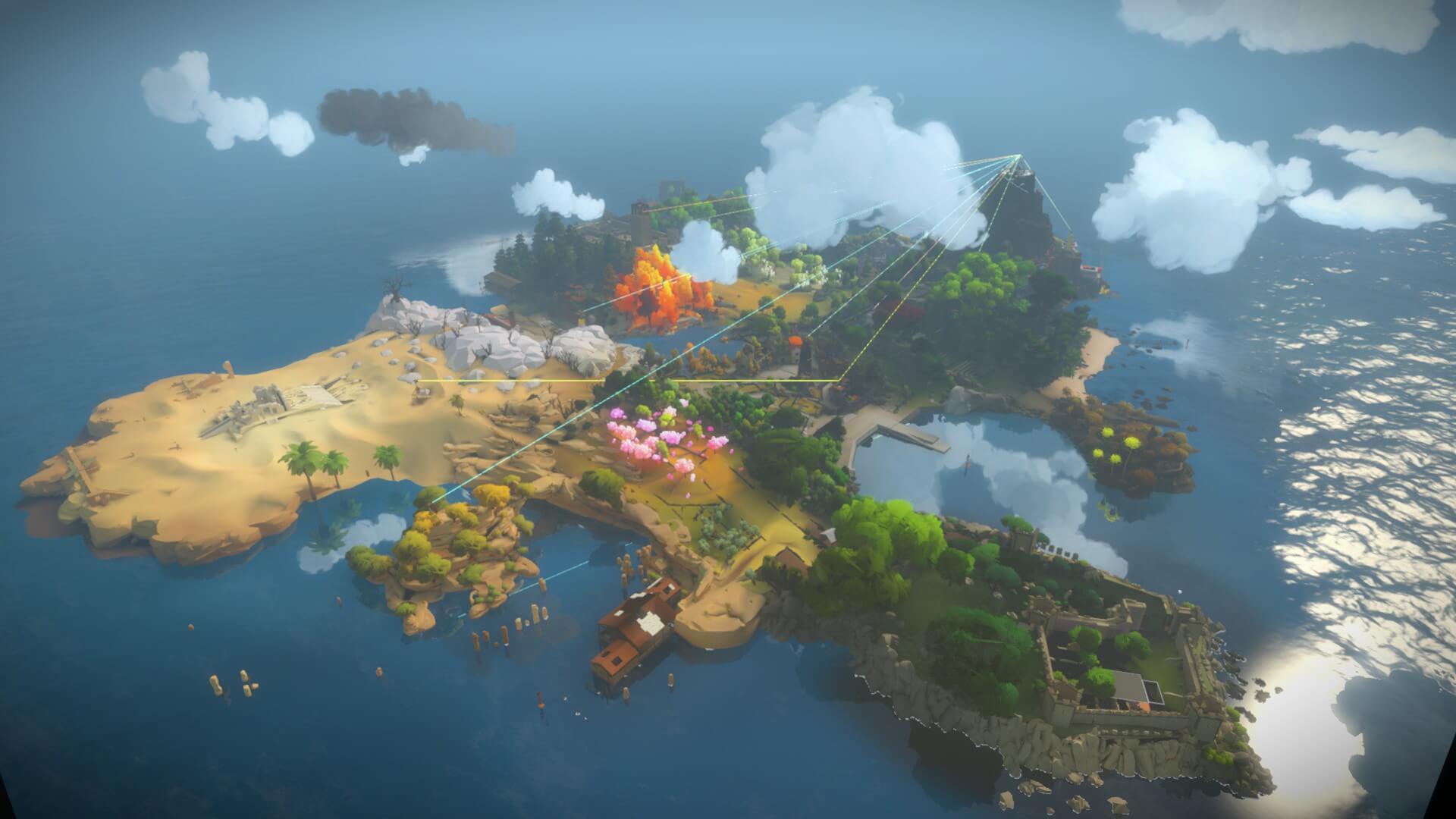 A mysterious island.