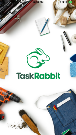 TaskRabbit iOS homescreen