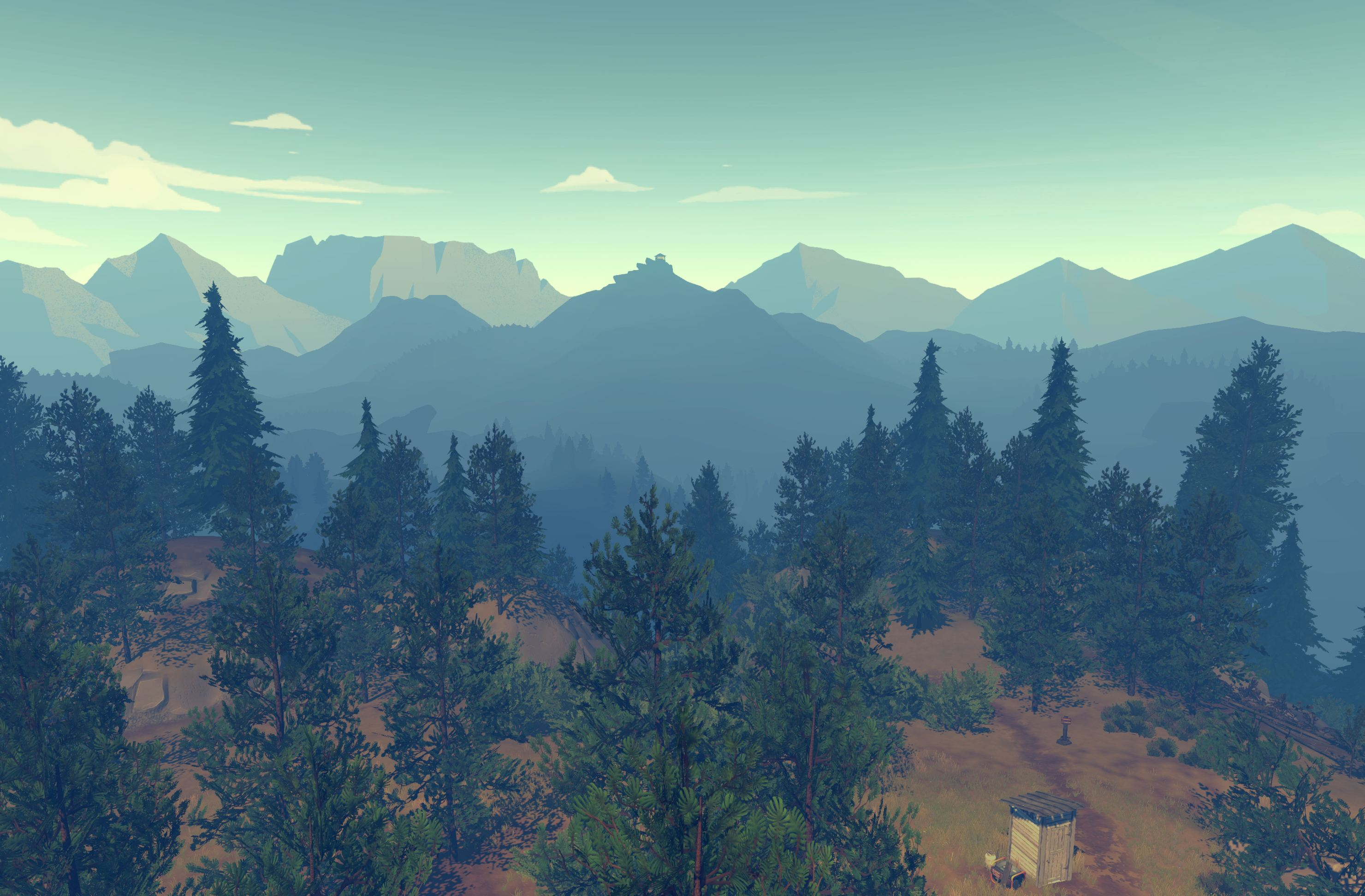You have an open world to explore, and its size will often leave you feeling small.
