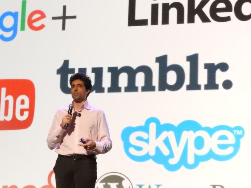 Niccolo De Masi, CEO of Glu Mobile, at the DICE Summit.