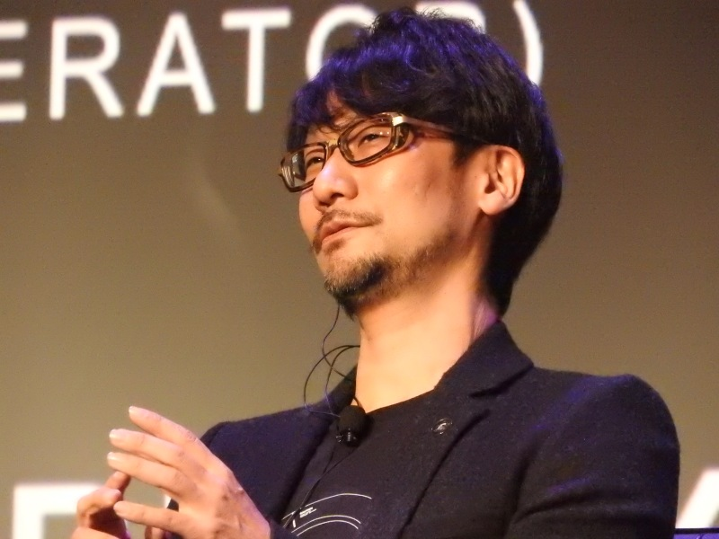 Hideo Kojima, maker of Metal Gear Solid series.