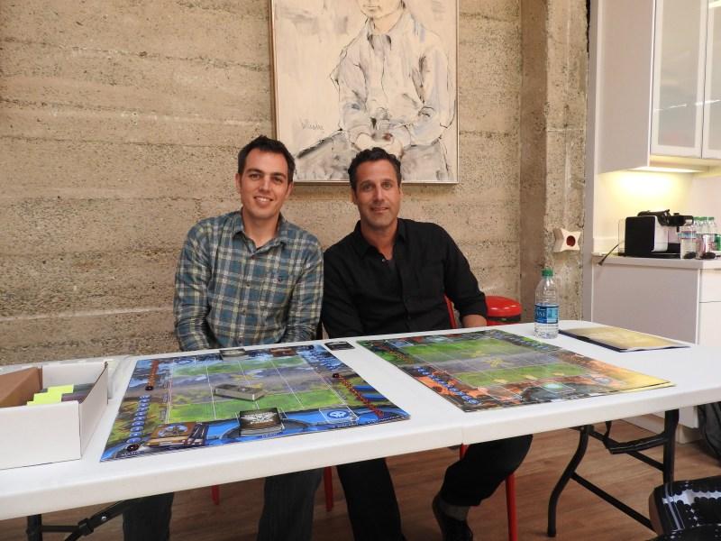 Michael Doran and Jason Rubin of Oculus VR