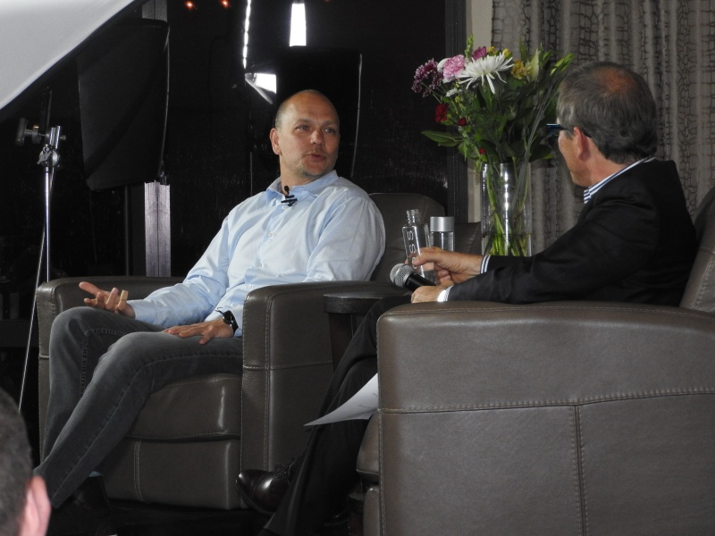 Tony Fadell and Kevin Surace at SV Forum